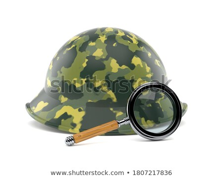 Askeri ayarlamak ateşli silâh Stok fotoğraf © cosma