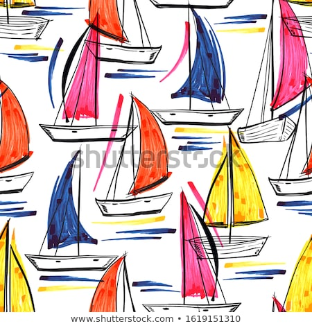 doodle pattern summer vacation stock photo © netkov1