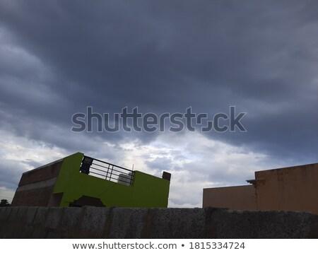 wonderful structured clouds  Stock photo © meinzahn