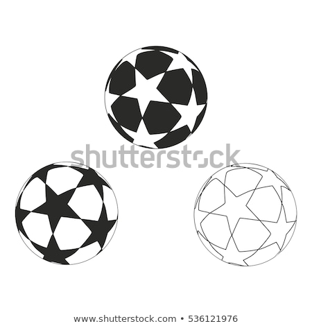 Star with balls Stock photo © funix