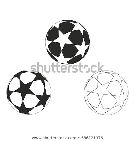 Star with balls stock photo © funix