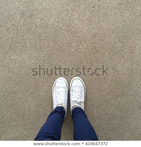 Top мнение кроссовки асфальт дороги Сток-фото © stevanovicigor