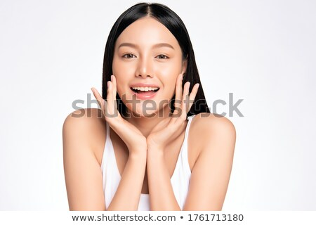 Elegant Chinese beauty stock photo © elwynn
