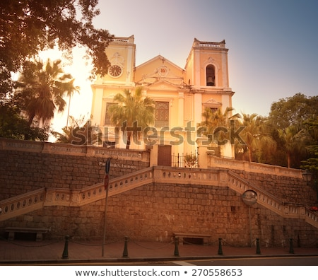 St. Lawrence Church Macau Stock photo © vichie81