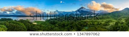 tó · Costa · Rica · nyugalmas · tájkép · színes · szivárvány - stock fotó © juhku