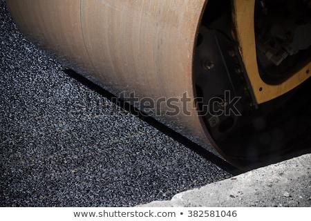 strada · lavoratori · asfalto · macchina · la · costruzione · di · strade - foto d'archivio © nobilior