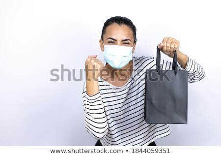 Black Friday Sale Exciting Gift Sign Stock photo © Krisdog