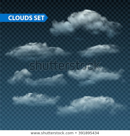 Vector Nightly Clouds Stock photo © kostins