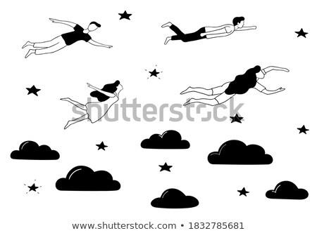 dream job concept with doodle design icons stock photo © tashatuvango