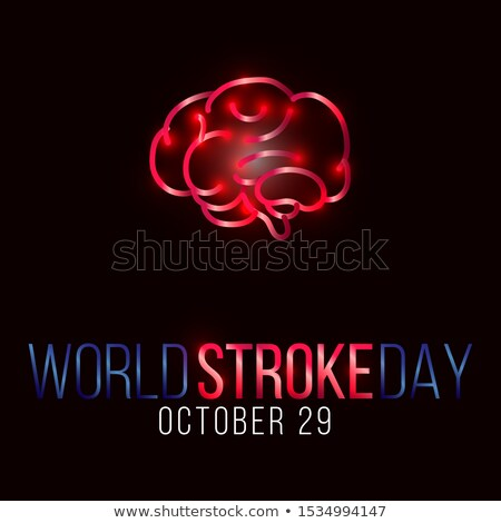 Stock photo: 29 october World Stroke Day