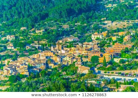 Eski İspanyolca resmedilmeye değer şehir Stok fotoğraf © smartin69