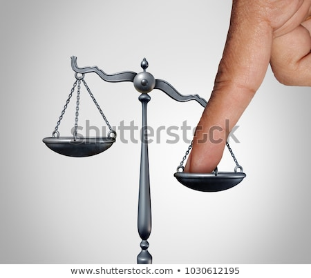Tip The Scales Stock photo © Lightsource