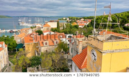 カラフル · 島 · 列島 · クロアチア · 風景 - ストックフォト © xbrchx