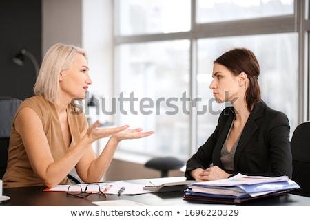 zakenman · vak · woord · geschreven · kantoor - stockfoto © is2