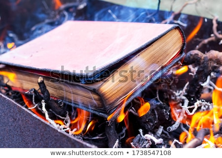 Proibido livro plástico cautela fita Foto stock © devon