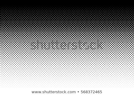 yarım · ton · model · eğim · etki · yatay · noktalar - stok fotoğraf © sarts