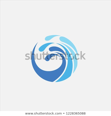 circle wave logo Stock photo © taufik_al_amin