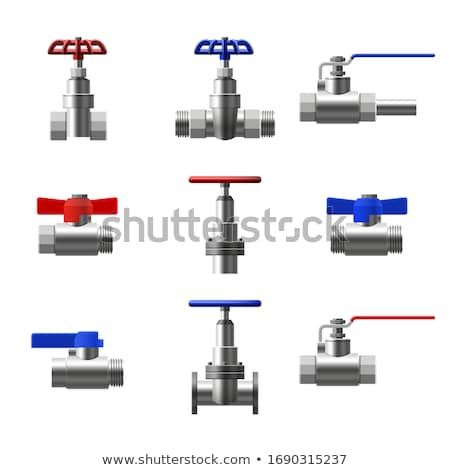 pipe and valve Stock photo © AnatolyM