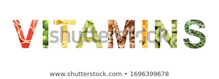 A set of vitamin A food Stock photo © bluering