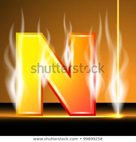 Stockfoto: Oranje · icon · vector · illustratie