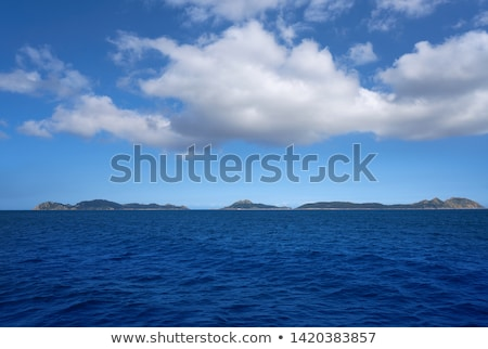 Islas Cies islands near Vigo Galicia Spain Stock photo © lunamarina