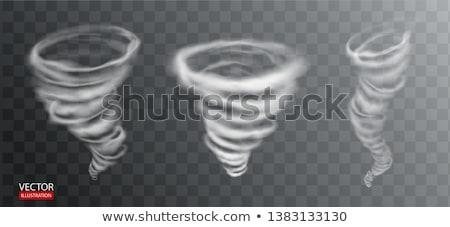 Tornado viento aislado vector diseno fondo Foto stock © bluering