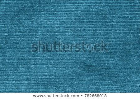 kék · szőnyeg · textúra · vászon · vászon · fehér - stock fotó © ivo_13