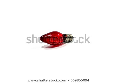 Infrared bulb on white background Stock photo © magraphics