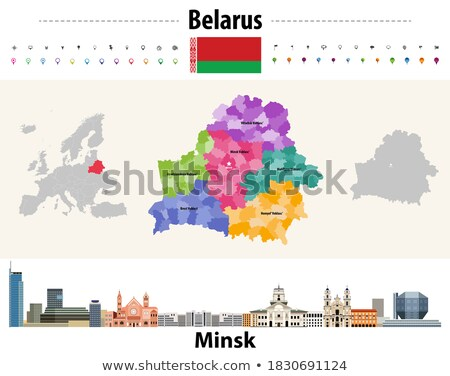 House with flag of belarus Stock photo © MikhailMishchenko
