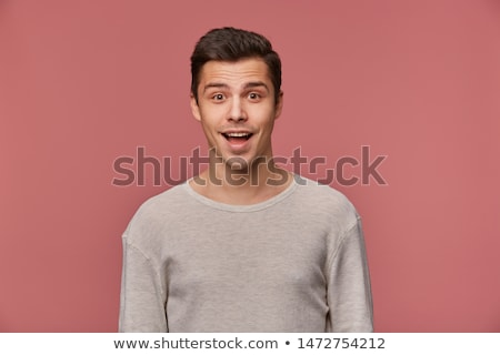 Portrait of funny man  stock photo © vladacanon