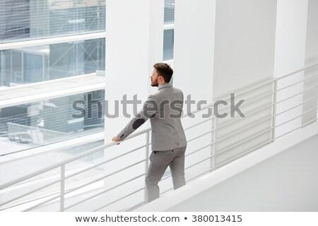 Diretor negócio organização trabalhando escritório sessão Foto stock © pressmaster
