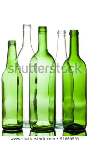 Empty Beer Bottle Color Range Stock photo © albund