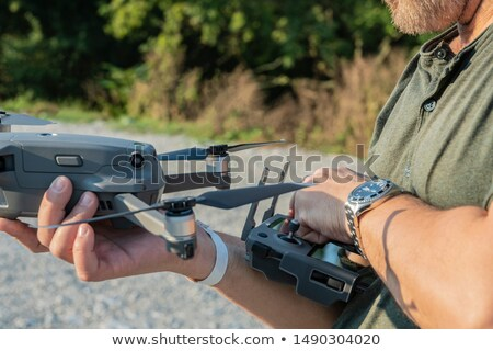 drone with shooting target stock photo © andreypopov