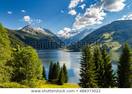 Mountain landscape in Tyrol, Austria. Stock photo © lichtmeister