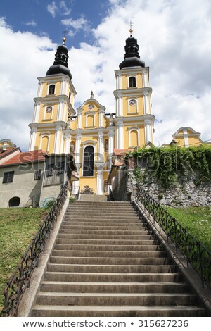 katedrális · Graz · Ausztria · kép · égbolt · város - stock fotó © borisb17