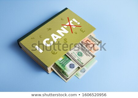 Book about business success and capital appreciation  Stock photo © Kotenko