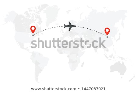 Transportation over World, Globe Delivery Vector Stock photo © robuart