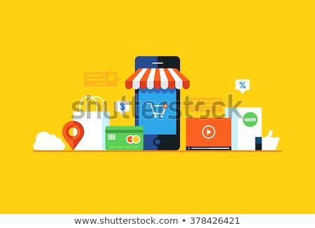 продавать магазине электронной коммерции вектора компьютер Сток-фото © robuart