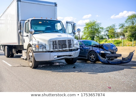 Car collision Stock photo © Myvector