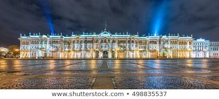 éjszakai · jelenet · múzeum · művészet · égbolt · épület · tájkép - stock fotó © paha_l