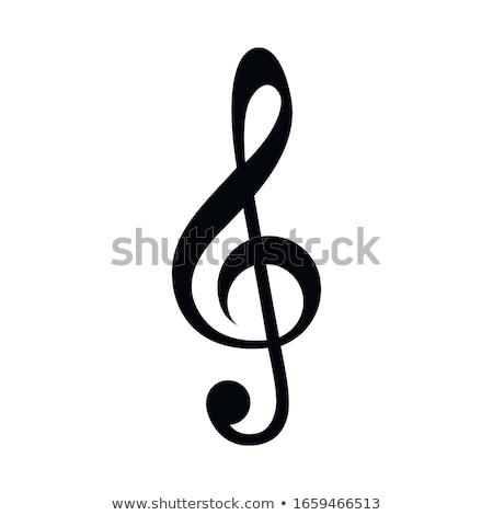 скрипки рисунок заметка вектора eps8 иллюстрация Сток-фото © oliopi