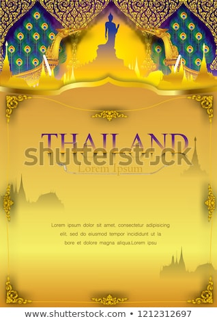 thai religious background stock photo © smithore