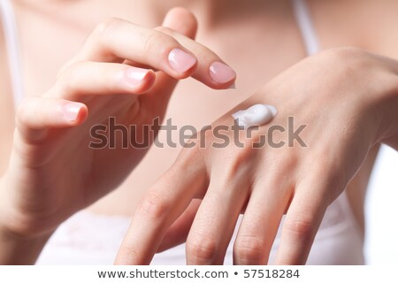 Pretty Hands and Moisturiser Cream Stock photo © fouroaks