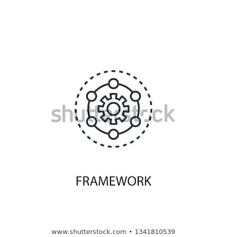 framework Stock photo © sibrikov