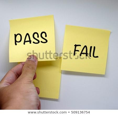 başarısız · oldu · eğitim · kitap · okul · bilim · çalışma - stok fotoğraf © latent