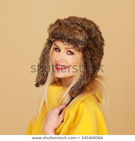 торговых · блондинка · портрет · женщину - Сток-фото © stryjek