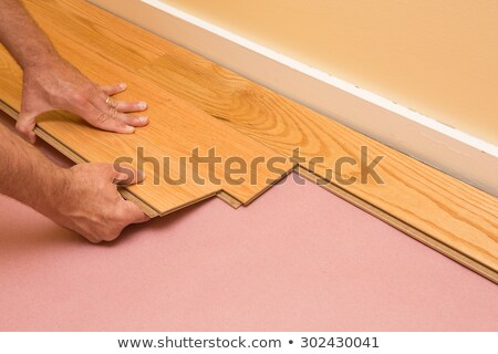Laminate flooring being installed Stock photo © photography33