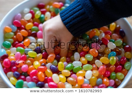 Sweet · красочный · конфеты · белый · чаши - Сток-фото © calvste