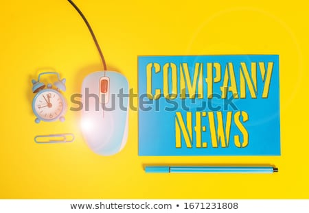 Company News stock photo © devon