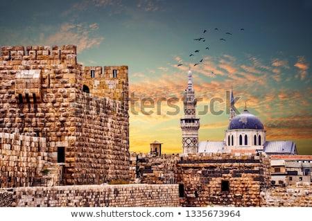 Síria · céu · edifício · cidade · rua · urbano - foto stock © bbbar